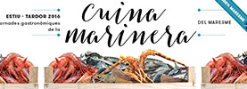 Maresme fish and shellfish gastronomic meetings